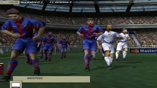 FIFA 99 - PC Gameplay / Real Madrid vs Barcelona / dificultad profesional