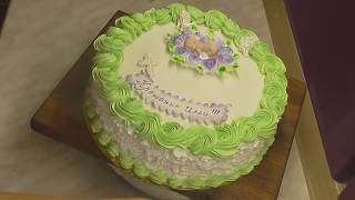 Торт на крещение .