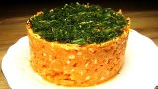 Салатизморковии плавленого сыра. Пошаговый рецепт приготовления!