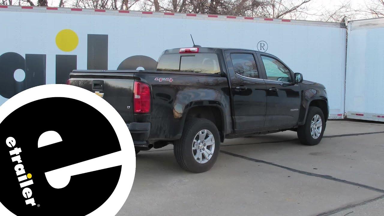 Trailer Hitch Installation 2018 Chevrolet Colorado Curt Etrailer