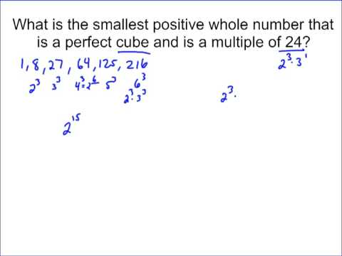 Perfect Cubes and Cube Roots (solutions, examples, videos