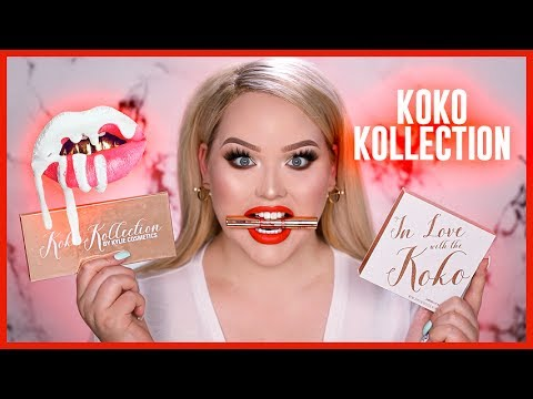 Kylie Cosmetics Koko Kollection Review Swatches Youtube