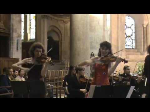Concerto pour 2 Violons BWV 1043 Vivace JS BACH,MA Nicolas,MP Vendôme