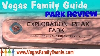 Las Vegas Parks - Exploration Peak Park in Mountains Edge