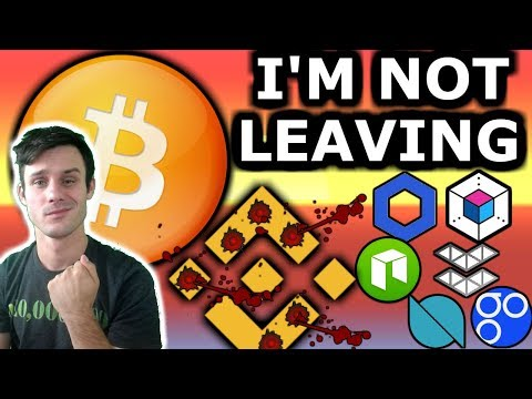 I'm Not Leaving Crypto. Binance  Still Poisoning The Space. NEO Devcon Today. Crypto News Today