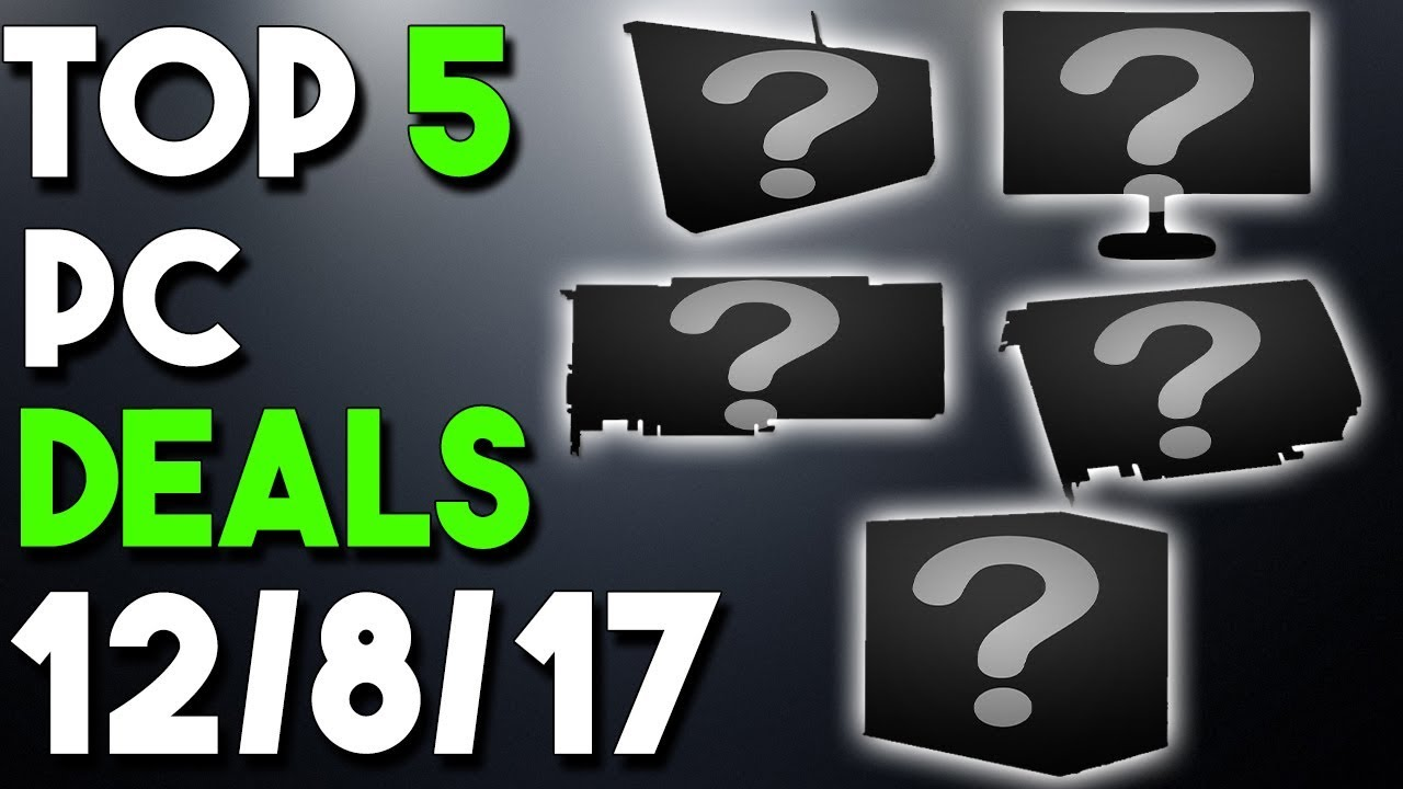 Great Gpu Deals Awesome Keyboard Deal And More Top 5 Pc Hardware