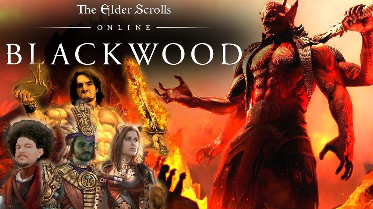 A LA CONQUÊTE DE NOUVELLES TERRES ! -TESO : BlackWood- Ep.1 avec Elyse, Krayn, Desastre & Artesio !!