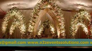 Traditional, Thematic, Cultural, A Mixture of Trendy Weddings Setups by A2Z Events in Pakistan