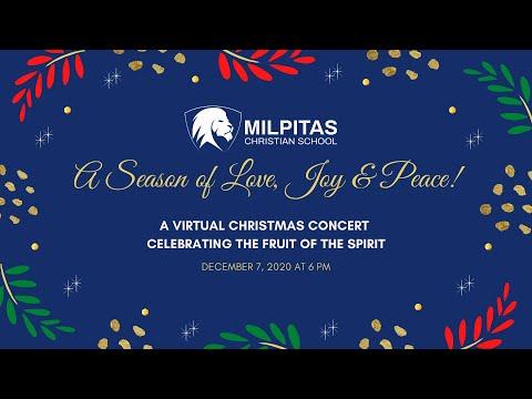 Milpitas Christian School Christmas Concert 2020