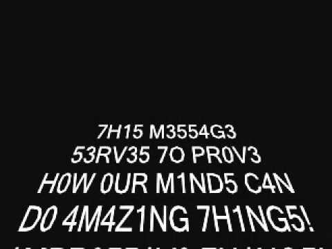 Can You Read This?