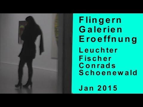 Flingern Galerien Eröffnung | Schönewald Fine Arts Fischer Conrads Leuchter | Düsseldorf Kultur