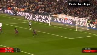 Ronaldinho Aplaudido en el Santiago   2005 2006