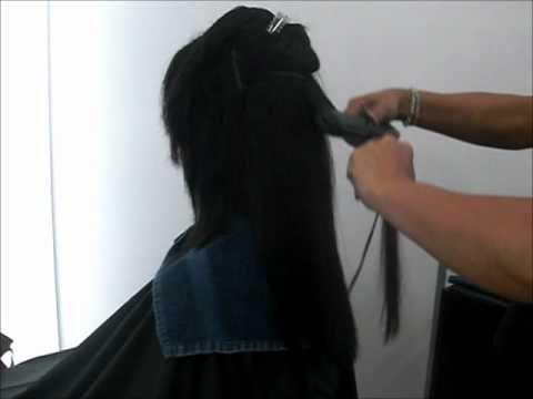 החלקה יפנית Japanese Hair Straightening Doovi