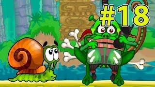 УЛИТКА БОБ #18 - Островная история. Король жаб. МУЛЬТИК для детей. Несносный боб 18 на Игрули TV.