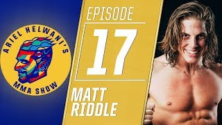 Matt Riddle wants to change how the fans perceive WWE | Ariel Helwani's MMA Show
