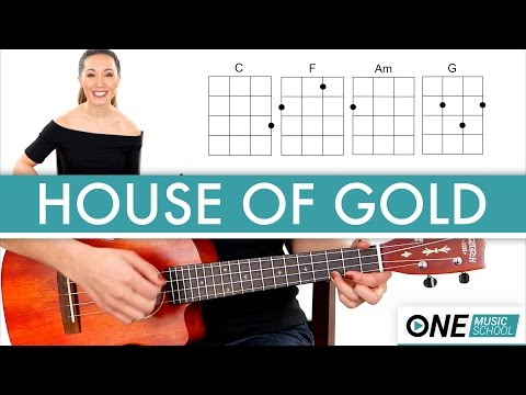 House Of Gold - Twenty One Pilots - Ukulele Tutorial / Lesson