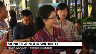 Terkejutnya Menkes dengan Pengamanan Ekstra Saat Jenguk Wiranto