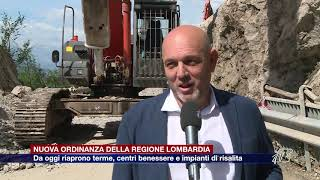 Etg - Ordinanza regionale, in Lombardia riaprono terme e impianti di risalita