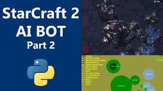 Machine Learning - StarCraft 2 Python AI part 2 - Barracks
