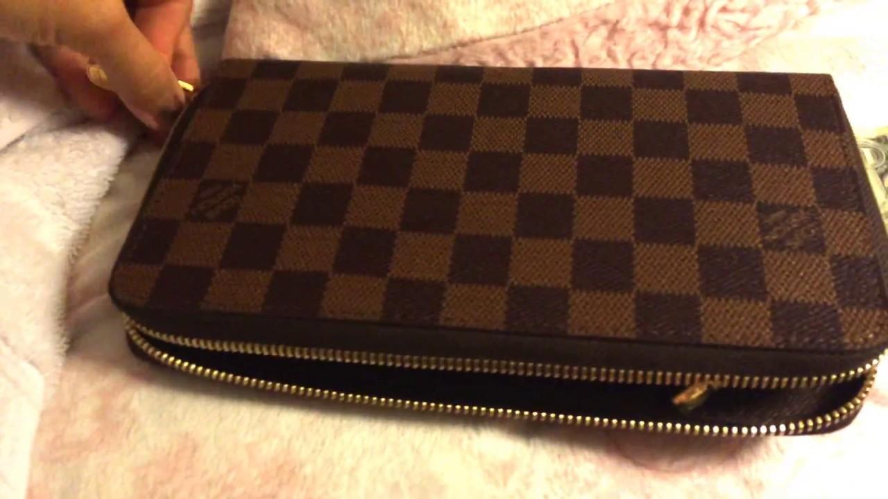 26dfcb4893cf Louis Vuitton ZIPPY ORGANISER wallet  DAMIER EBENE