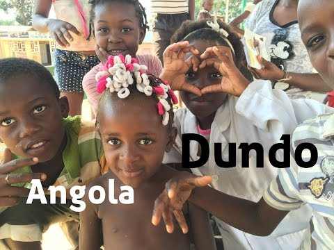 Africa vacation travel video guide: Dundo Angola