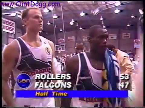 NBL 1993 - Gold Coast Rollers vs. Newcastle Falcons (not complete)