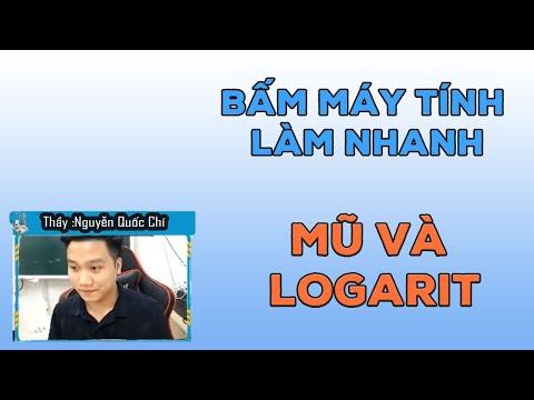 Bấm Máy Tính Mũ Và Logarit (Đủ Dạng Bài) _LIVE_Rất Hay_Thầy Nguyễn Quốc Chí