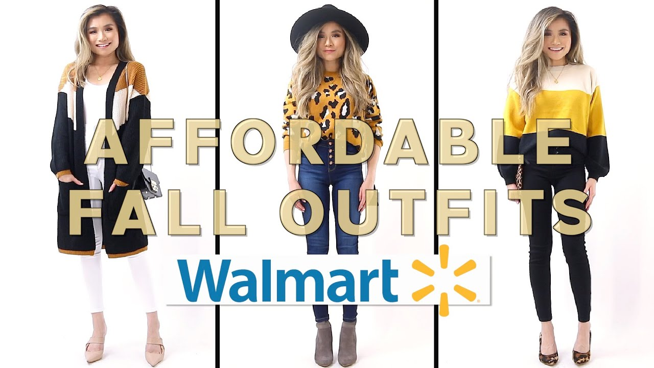 [VIDEO] - WALMART FALL OUTFITS under $50 | Walmart Try On Clothing Haul FALL 2019 | Miss Louie 5