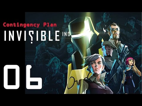 Invisible Inc. Contingency Plan 06 - Getting some new weapons