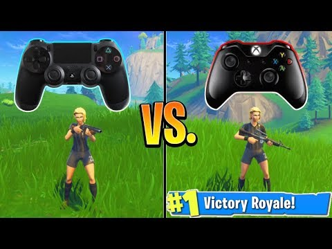 Ps4 Or Xbox Fortnite Players Better Console Fortnite Tips And Tricks Fortnite Battle Royale