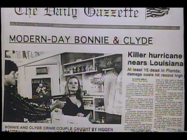 Teenage Bonnie and Klepto Clyde (1993) Trailer (VHS Capture)
