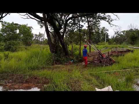 ทุ่งนาเมืองพระวิหารประเทศกัมพูชา Cambodia Field Countryside