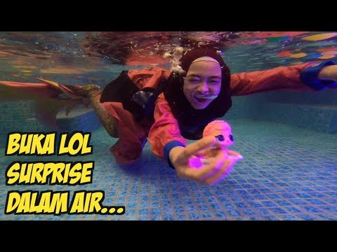 UNBOXING LOL SURPRISE DALAM AIR. wooow!!😍😍 (part 2)
