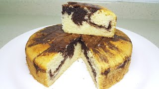 Cake recipe   How to make cake   Marble cake super soft and fluffy