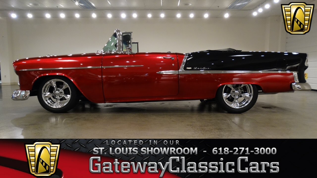 6909 1955 Chevrolet Bel Air - Gateway Classic Cars of St. Louis ...