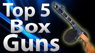 Top 5 Box Guns/weapons In 'call Of Duty Zombies' - Black Ops 2 Zombies, Black Ops & Waw