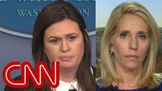Bash: How can that come out of Sarah Sanders' mouth? thumbnail
