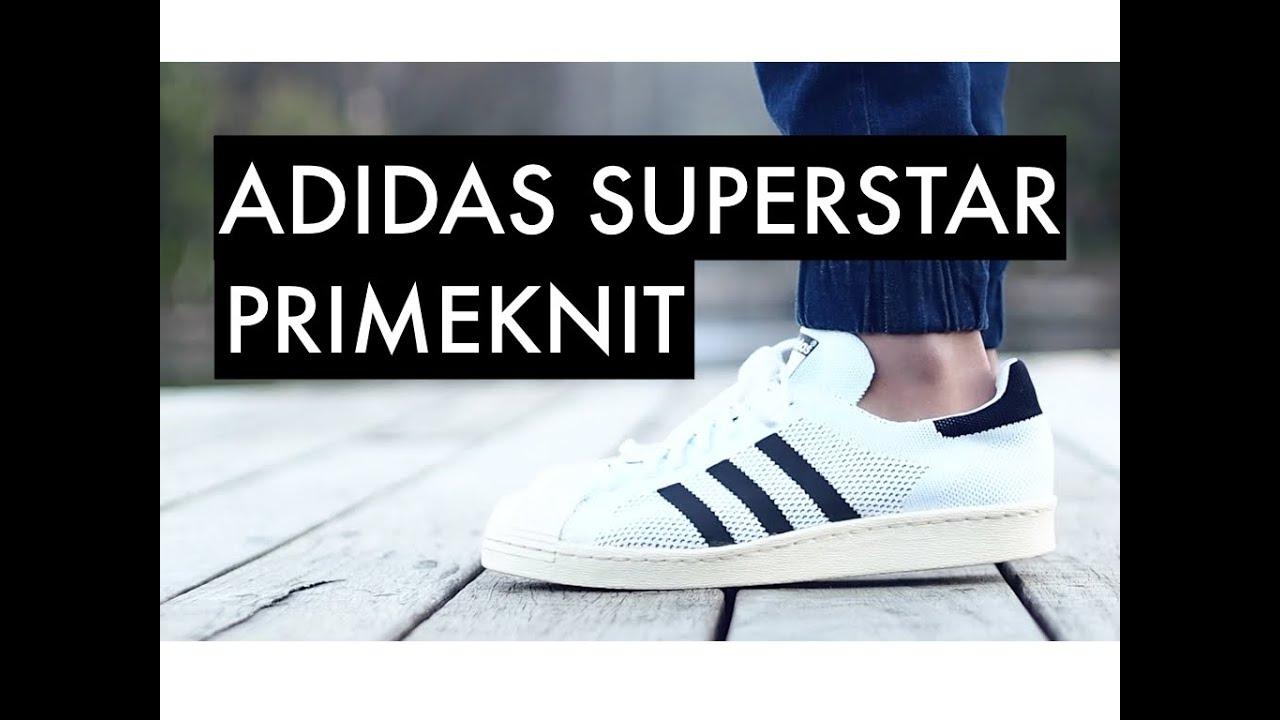 ADIDAS Superstar | Primeknit | Superstar On Feet 7c2300