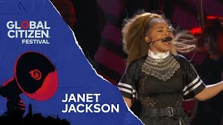 Janet Jackson Performs Made for Now at the Global Citizen Festival....