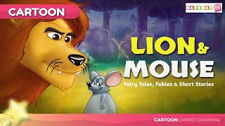 The Lion and the Mouse I Tale in Hindi I बच्चों की नयी हिंदी कहानियाँ I