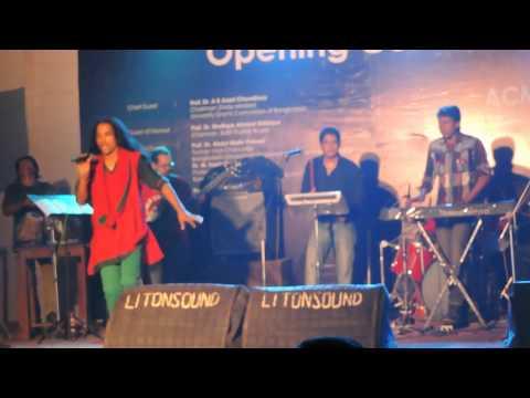 Close up 1 Singer Saju | Gramer Nowjuan Hindu Musolman- at BUBT live HD