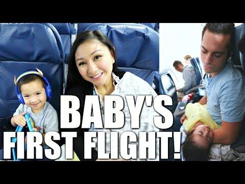 JACOB'S FIRST FLIGHT!