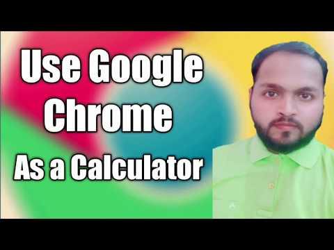 How To Use Google Chrome As A Calculator  | RK Infotech |