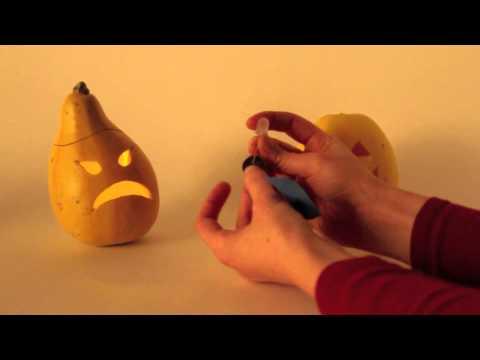 Simple LED Pumpkins