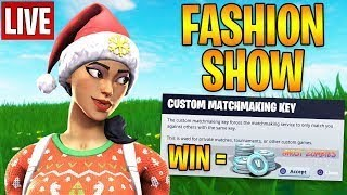 (EU)Live Fortnite Fashion Show!Win for a gift!