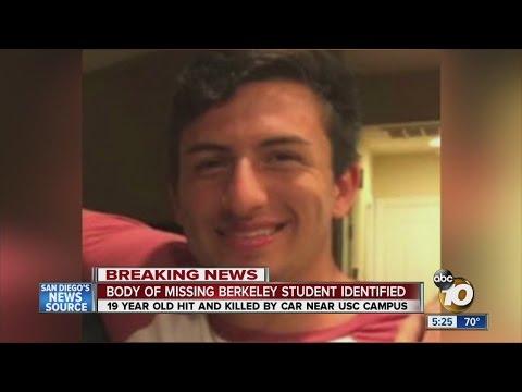 Missing UC Berkeley soccer player was struck, killed on LA freeway