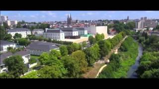 Drone - Pays de la Loire - Cholet vu du ciel