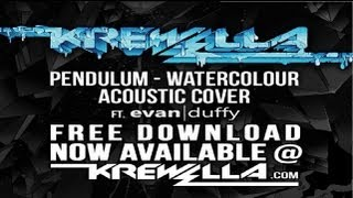 Pendulum - Watercolour Krewella Acoustic Cover ft Evan Duffy