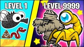 THE NEW *STRONGEST* ANIMAL EVOLUTIONS!! COSMIC EYE & MUMMY | Flyordie.io Update (NEW 9999+ LEVEL)
