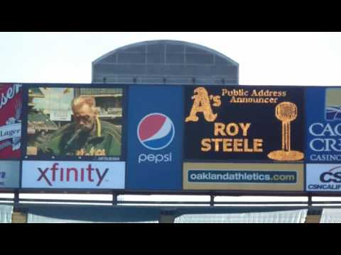 Roy Steele Returns To The Coliseum - 4/17/10 A